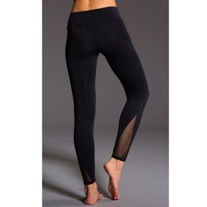 Onzie High Rise Classic Leggings With Mesh Details